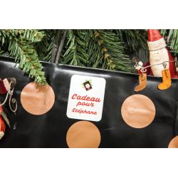 Pack 48 étiquettes cadeaux de noël
