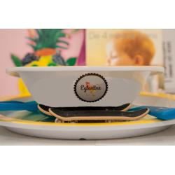 etiquette-autocollant-design-retro-ronde-moyen-format-assiette-bebe